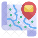 Mail Location Mail Address Mail Icon