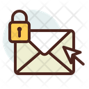 Mail Lock Lock Mail Secure Mail Icon