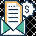 Marketing Email Dollar Icon