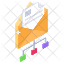 Email Network Mail Network Group Message Icon