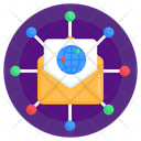 Email Network Mail Network Distributed Mail Icon