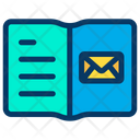Mail Notebook Icon