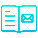 Email Address Book Notebook Icon