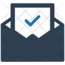 Notification Letter Approval Icon