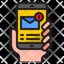 Mail Notification Email Notification Notification Icon
