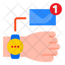 Mail Notification Mail Notification In Smartwatch Notification Icon
