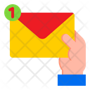 Mail Notification Email Hand Icon
