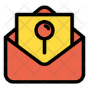 Mail Location Mail Email Icon