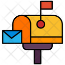 Mail Post Box Letter Icon