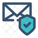 Mail Protect Mail Message Icon