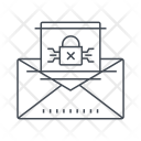 Mail Protection Criminal Icon