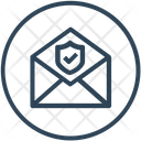 Email Shield Security Icon