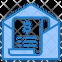 Mail Receipt Icon
