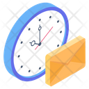 Mail Time Mail Reminder Letter Icon