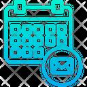 Mail Schedule Icon