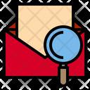 Mail Data Work Icon