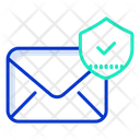 Protection Security Mail Security Approved Mail Icon