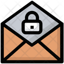 Email Lock Security Icon