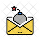 Mail Bomb Color Icon