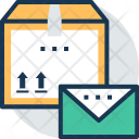 Parcel Post Airmail Icon