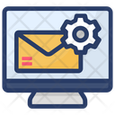 Mail Setting Mail Service Configuration Icon