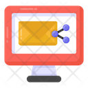 Email Share Mail Share Online Message Icon