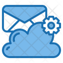 Mailbox Cloud System Online Icon