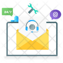 Mail Support Communication Service Letter Service Icon