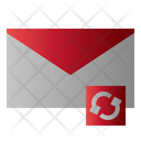 Mail Syncronize Message Icon