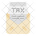 Mail Tax Document Icon