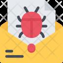 Mail Virus Data Icon