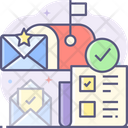 Mail Voting Online Voting Email Voting Icon