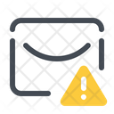 Warning Mail Email Icon