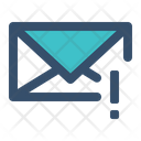 Mail Letter Warning Icon