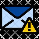Mail Warning Mail Alert Warning Icon