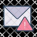 Mail Warning Warning Email Icon