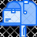 Mailbox Box Delivery Icon