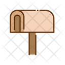 Mailbox Post Box Courier Box Icon