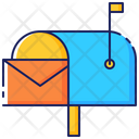 Mail Mailbox Letter Icon