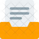Mailbox Document Email Icon