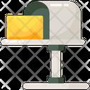 Letterbox Letter Plate Letter Hole Icon