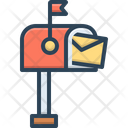 Mailbox Pobox Letterbox Icon
