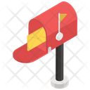 Letterbox Postbox Letter Hole Icon