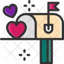 M Mailbox Mailbox Letterbox Icon