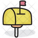 Mailbox Mail Slot Letter Drop Icon