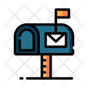 Mailbox Postbox Box Icon