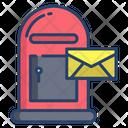 Mailbox Letter Box Box Icon