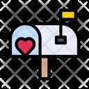 Mailbox Love Postoffice Icon