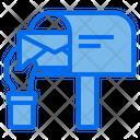 Hand Mail Mailbox Icon