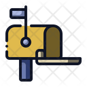 Mailbox Post Mail Icon
